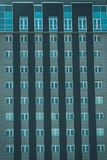 Windows on facade of a multi-storey building. Windows on the facade of a multi-storey building Stock Images
