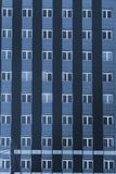 Windows on facade of a multi-storey building. Windows on the facade of a multi-storey building Royalty Free Stock Photography