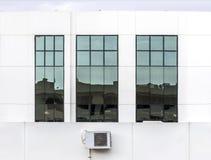 Windows fechado Fotografia de Stock