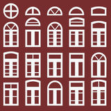 Windows frame set icon Royalty Free Stock Photos
