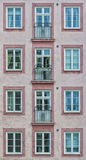 Windows of the French Style Royalty Free Stock Photo
