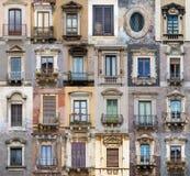 Windows från Sicilien Royaltyfri Fotografi