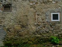 Windows gammal och ny abstrakt konst Arkivbild