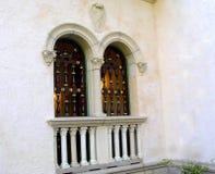 Windows gemellare fotografia stock libera da diritti