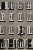 Windows, Geneva. Royalty Free Stock Photography