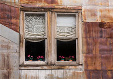 Windows in Ghost Town of St Elmo royalty free stock photos