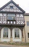 Windows of the Grange. Leominster Herefordshire England united kingdom royalty free stock photo