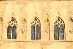 Windows gótico Fotos de archivo libres de regalías