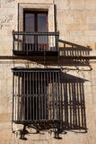 Windows of the Guzmanes palace. Leon, Castilla y Leon, Spain Stock Photos