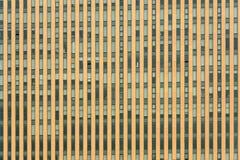 Windows hög kontorsbyggnaddesign Arkivfoton