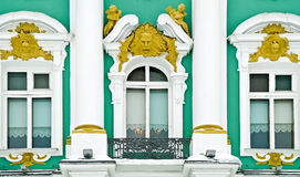 Windows of the Hermitage Royalty Free Stock Photo
