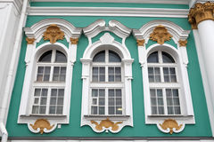 Windows of the Hermitage building Stock Images