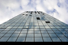 Windows of high-rise buildings Royalty Free Stock Images