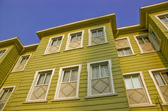 Windows on a house Stock Image