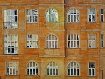 Windows of a house Royalty Free Stock Images