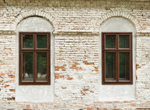Windows of the house Royalty Free Stock Photos