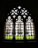 Windows i den Westminster abbotskloster, England royaltyfri bild