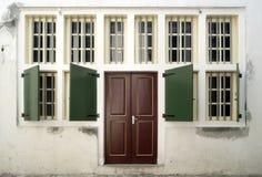 Windows i drzwi zdjęcie royalty free