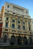 Windows i Madrid Royaltyfri Fotografi