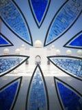 Windows i Mesquita gör Xeque Zayed Arkivfoton