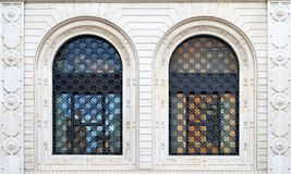 Windows im Bologna, Italien stockbilder
