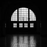 Windows im Schattenbild Stockbilder
