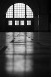 Windows im Schattenbild Stockfotografie