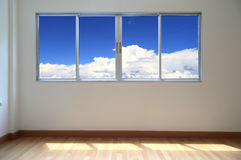 Windows inside room Royalty Free Stock Images