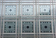 ` Windows Institut du Monde Arabe ` Стоковое Фото
