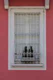 Windows with iron bars Stock Photography