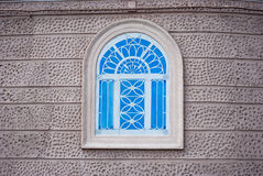 Windows with iron ornamental Stock Images
