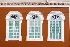 Windows in Itu Sao Paulo Brasile Immagine Stock