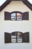 2 Windows с Jalousies Стоковое Изображение RF