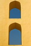 Windows Jantar Mantar des Beobachtungsgremiums Stockfoto