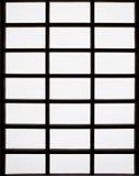 Windows in Japanese style Stock Photo