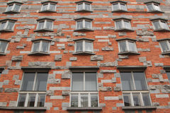 Windows of Joze Plecnik National and University Library of Slove Royalty Free Stock Image