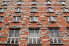 Windows Joze Plecnik obywatel i biblioteka uniwersytecka Slove Obraz Royalty Free