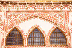 Windows of Khan-e Ameriha historic house Royalty Free Stock Images