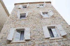 Windows in Kotor ,Montenegro Royalty Free Stock Photos