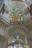 Windows in La Sagrada Familia Royalty Free Stock Photography