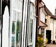 Windows of Lavenham Stock Photo