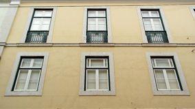 Windows, Lisbon, Portugal. Detail of some windows, Lisbon, Portugal Royalty Free Stock Images