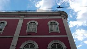 Windows, Lisbon, Portugal Stock Image