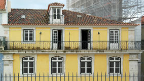 Windows, Lisbon, Portugal. Detail of some windows, Lisbon, Portugal Stock Photography