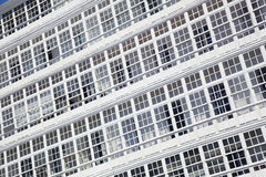 Windows los angeles Coruna, Galicia Obraz Royalty Free