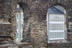 Windows - Lugo Foto de archivo