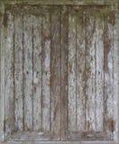 Windows machte vom alten Holz Stockbilder
