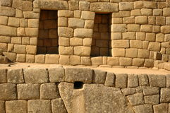 Windows from Machu Picchu  Royalty Free Stock Photography