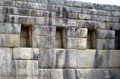 3 Windows Machu Picchu, Perú Imágenes de archivo libres de regalías