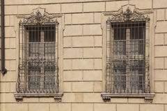 Windows in Mantova Royalty Free Stock Images
